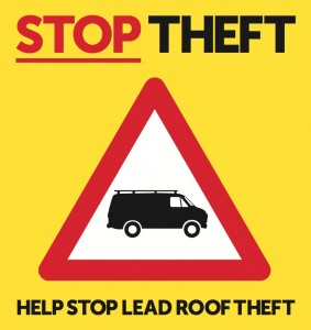 Metal Theft Sign