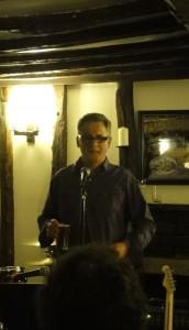 Paul Butler telling Joel's Story