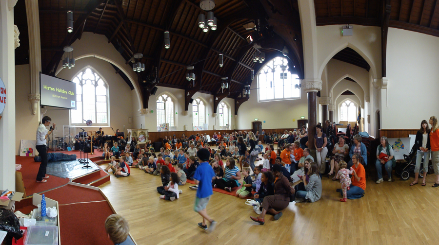 Internal view - Holiday Club in action