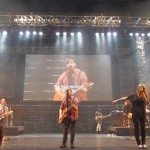 Hillsong band on stage
