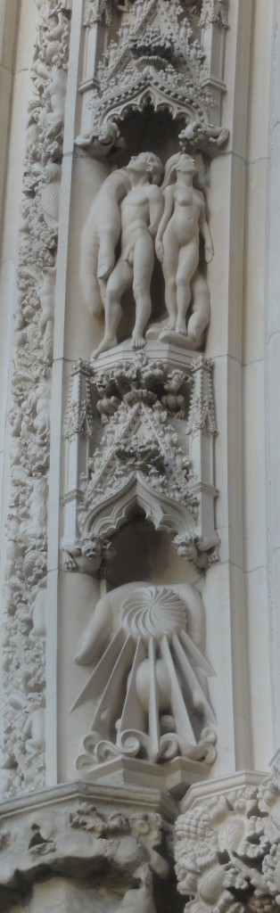 Creation, from the Genesis Cycle at the west door of York Minster