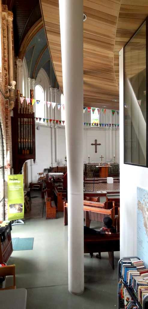 Internal view of St Paul's Old Ford
