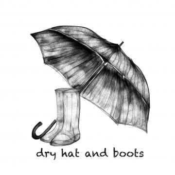 B3- dry hat and boots
