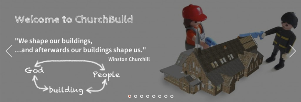 Slide from ChurchBuild landing page
